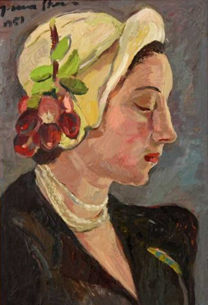Irma Stern: Portrait of Vivia Ferreira