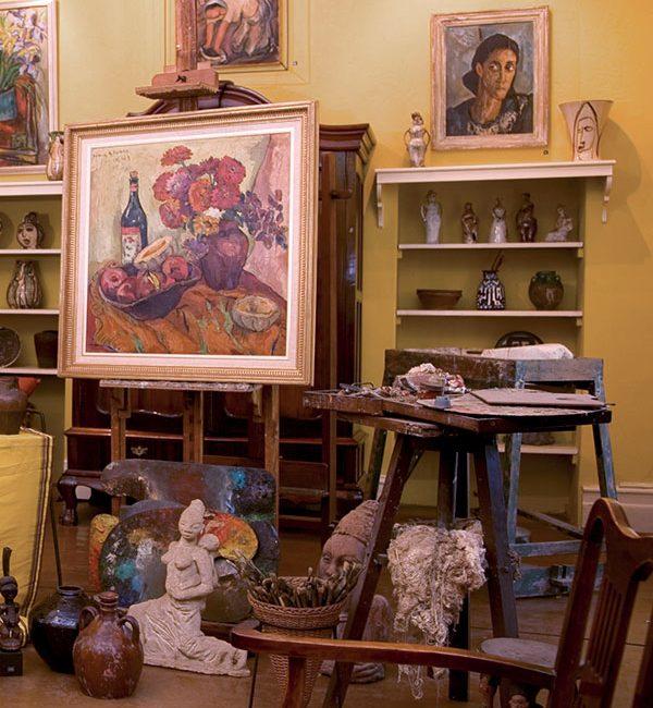 Irma Stern Museum: Irma Stern studio