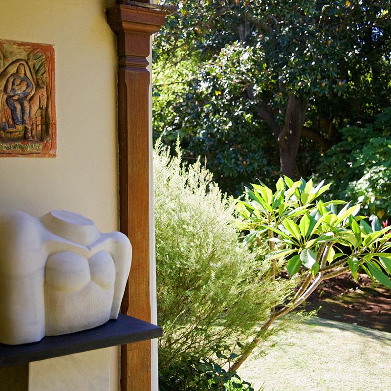 Irma Stern Museum: stoep and garden